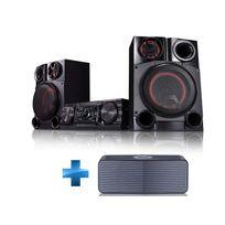 LG - Chaine Hifi Mini Audio CM8360 + Enceinte bluetooth NP5550B jumelable
