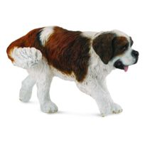 Figurines Collecta - Figurine Chien : Saint Bernard