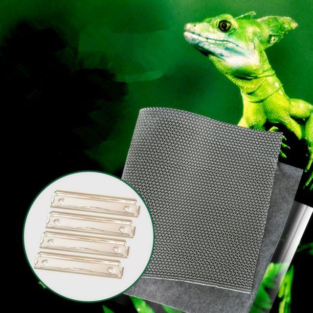 3 En 1 Imperméable à L'eau Mat Animal Reptile Humidité Hygiénique Lit Vivarium 100 40cm