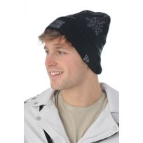 Newera Cap - New Era Bonnet Holiday snow newera blkgrh 4063