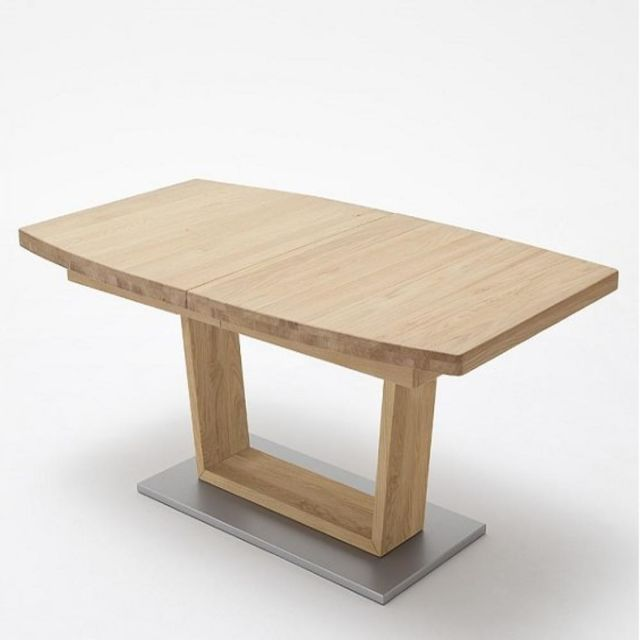 Inside 75 Table repas extensible Catane 140 x 90 cm chêne massif