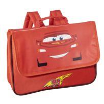 DISNEY CARS - Cars - Petit cartable rouge - 1 Compartiment - L 34,1cm
