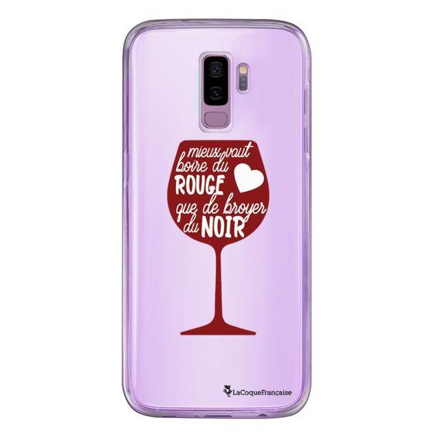 coque galaxy s6 vin rouge