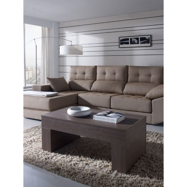 contemporaine Adrian Table bar basse relevable W29IYHeED