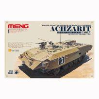 Meng - Maquette char Véhicule de transport de troupes blindé israékuebs Achzarit début de production