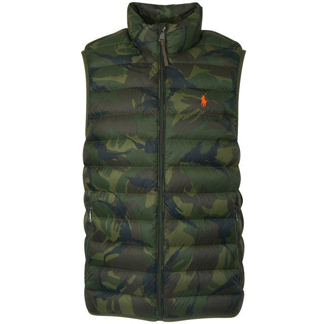 Ralph Lauren - doudoune sans manche camouflage - pas cher Achat   Vente  Doudoune homme - RueDuCommerce 23ffc0ff943c