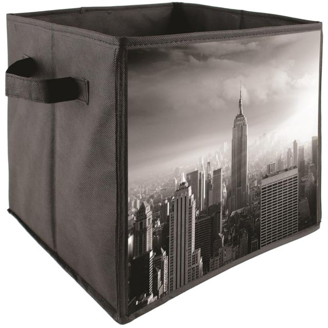 Promobo Cube Panier De Rangement Pliable Déco Usa New York