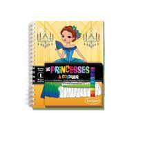Sentosphère - Carnet de coloriage : Princesses
