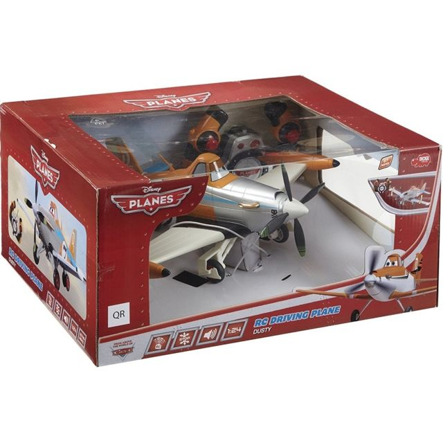 Planes Avion Dusty Radiocommandee 1.24 Rc Disney - Dickie - Voiture - Rc Driving