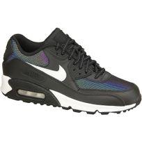 3cfb7b0fe806d Nike - Air Max 90 Lea Gs 833412-001 Noir - pas cher Achat   Vente ...