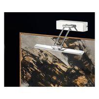 Pan Int. lampe Design - Petit Eclairage tableau led chrome Shadow 5 W lumière Blanc chaud