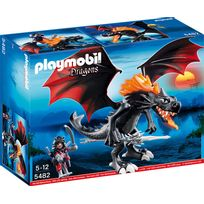 PLAYMOBIL - DRAGONS - Grand Dragon royal avec flammes lumineuses - 5482