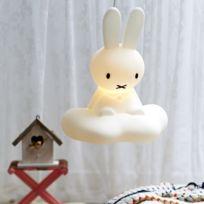 Mr Maria - Miffy - Suspension Lapin Blanc H53cm - Luminaire enfants designé par