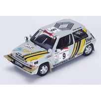 Spark - Renault R5 Gt Turbo - Rallye de Cote d'Ivoire 1989 - 1/43 - S3859