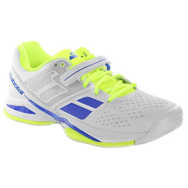 408453d2c64cf7 Babolat - Propulse Ac M Chaussure Homme - Taille 44 - Blanc - pas cher  Achat   Vente Baskets homme - RueDuCommerce