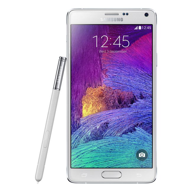 Samsung - Galaxy Note 4 - 32 Go - Blanc - Reconditionné