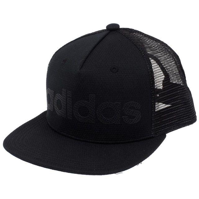 bbb366812cfd7 Adidas Neo - Casquette américaine Neopark+ black cap Noir 50371 - pas cher  Achat   Vente Casquettes