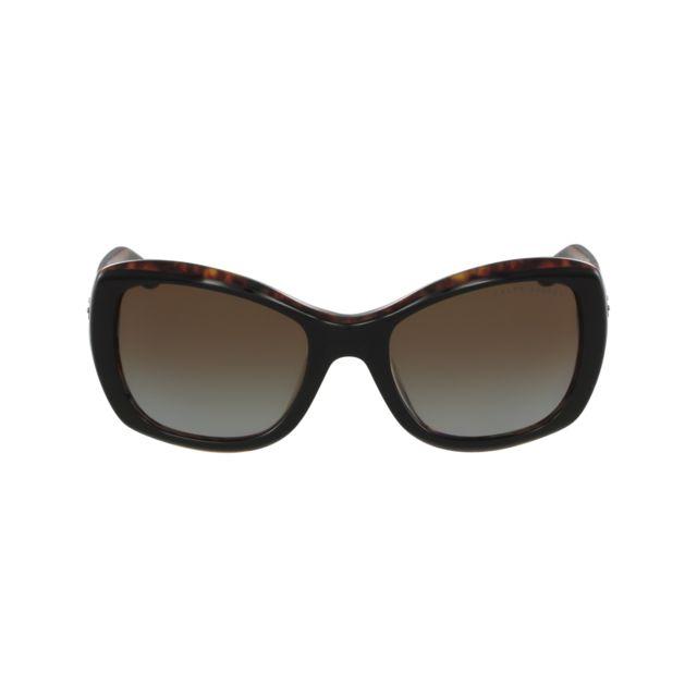 Ralph Lauren - Rl-8132 5260 T5 Noir - Havane - Lunettes de soleil - pas  cher Achat   Vente Lunettes Tendance - RueDuCommerce b3427619013b