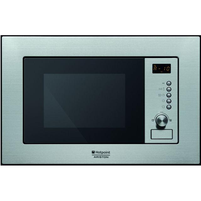 HOTPOINT micro-ondes encastrable 20l 800w inox - mwa1211ixha