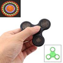 Shopinnov - Hand spinner fidget spinner modele lumineux vert