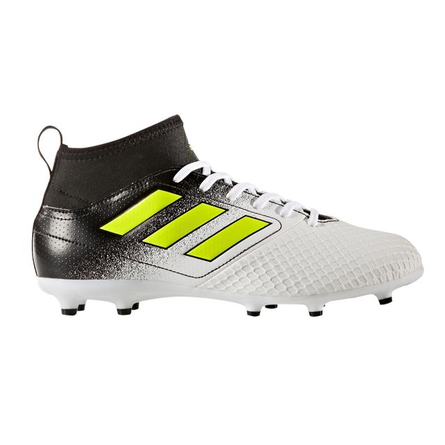 Adidas performance - Chaussures football Adidas Ace 17.3 Fg Blanc/noir Junior