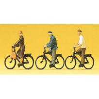 Preiser - Modélisme Ho : Figurines : Cyclistes