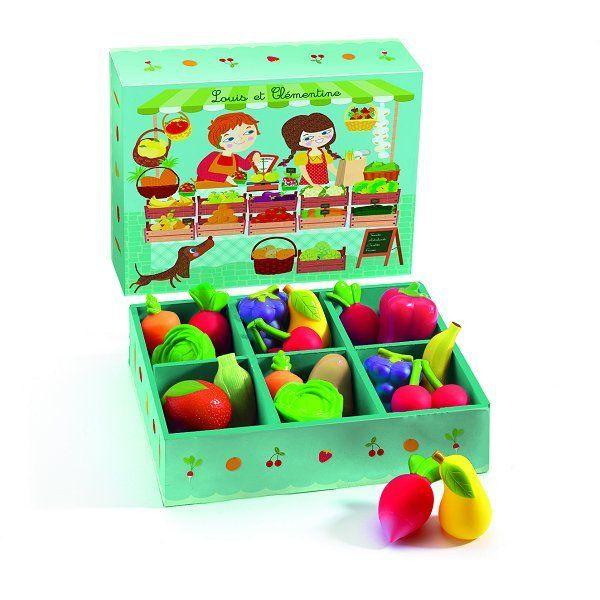 Djeco Fruits et légumes - Louis et Clémentine