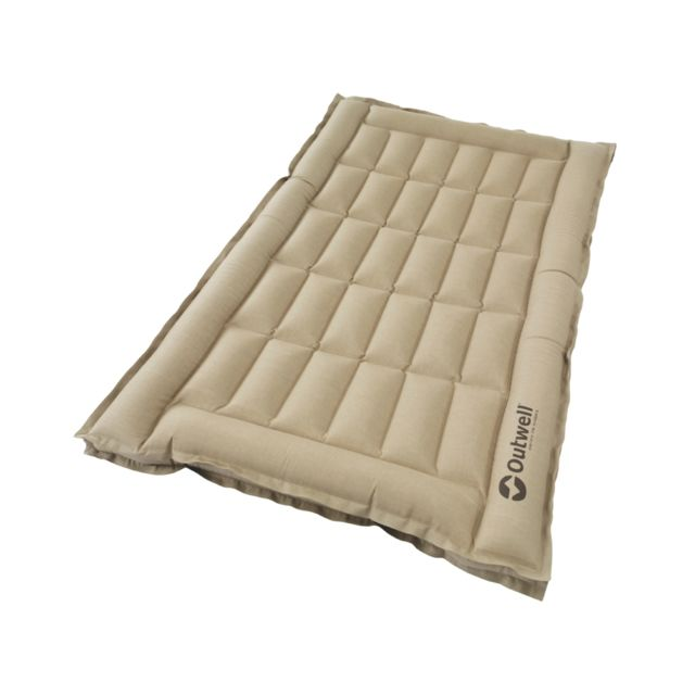 Outwell Airbed Box - Matelas gonflable 2 places - beige