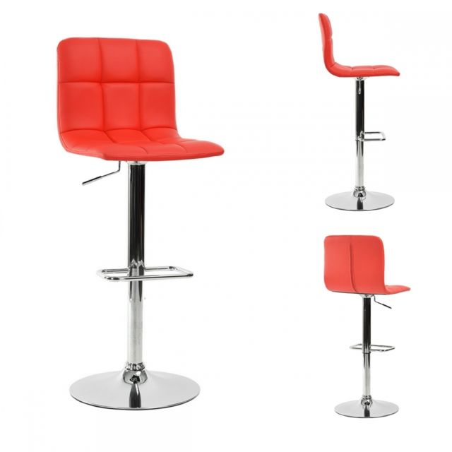tabouret design rouge. Black Bedroom Furniture Sets. Home Design Ideas