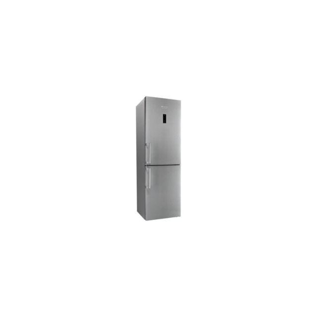 HOTPOINT Xh8t2oxzh/1 - Refrigerateur Combine - 338 L 234+104 - Total Nofrost - A++ - L60 X H189 Cm - Inox