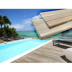 habitat et jardin lames de terrasse en bois autoclave pas cher achat vente. Black Bedroom Furniture Sets. Home Design Ideas