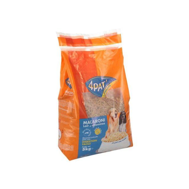 4PAT - Macaroni au lait et vitamines - Pour chien - x1