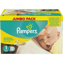 Pampers - New Baby Taille 1 2 a 5kg 72 couches