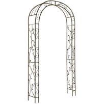 GARDMAN - Arche en fer aspect vieilli Nature