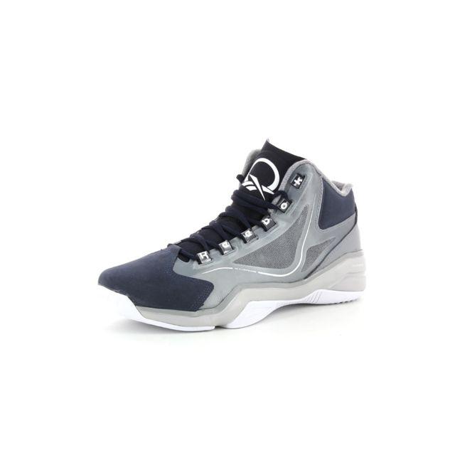 f3c9ff3ab628 Reebok - Chaussures de basket Q96 Crossexamine Gris - 38 1/2 - 38 1 ...