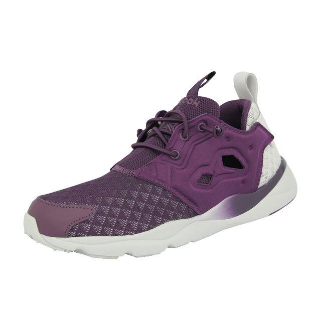 145f91320fb5 Reebok - Furylite Sheer Chaussures Mode Sneakers Femme Violet - pas cher  Achat   Vente Baskets femme - RueDuCommerce