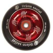 Urban - Roue de trottinette Metal core + abec9 rouge Rouge 83918
