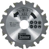 Tivoly - Disque à sculpter Ø 125mm