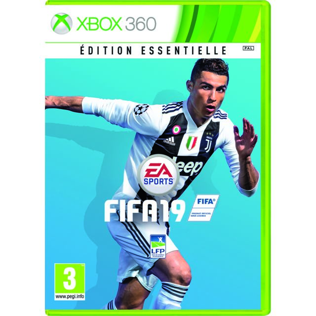 Console Xbox 360 Carrefour: FIFA 19 ÉDITION ESSENTIELLE