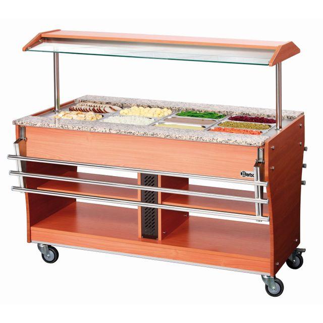 Bartscher Chariot buffet chaud, 4x1/1GN, P150