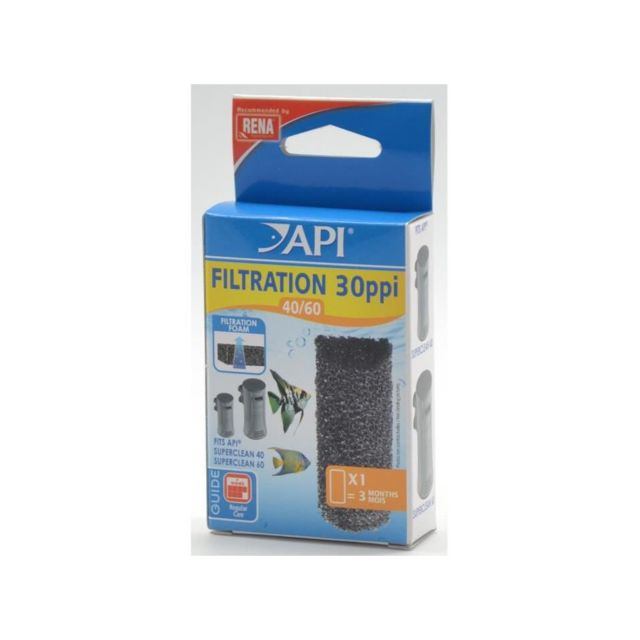 Api Mousse filtration 40-60 30 Ppi Rena - Pour aquarium