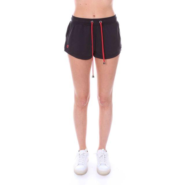 Numero 00 Numero00 Femme 2360BBLACK Noir Coton Shorts