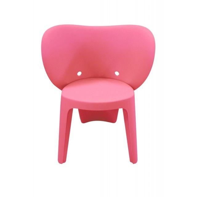 Meubletmoi Chaise enfant rose - Elephanto rose