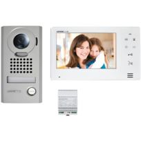 Aiphone - Kit video platine saillie couleur grand angle avec moniteur ecran 7 Jos1V