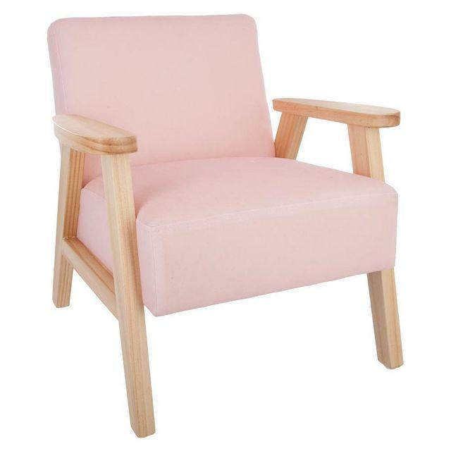 Petit Fauteuil Rose Achat Petit Fauteuil Rose Pas Cher Rue Du - Petit fauteuil en bois