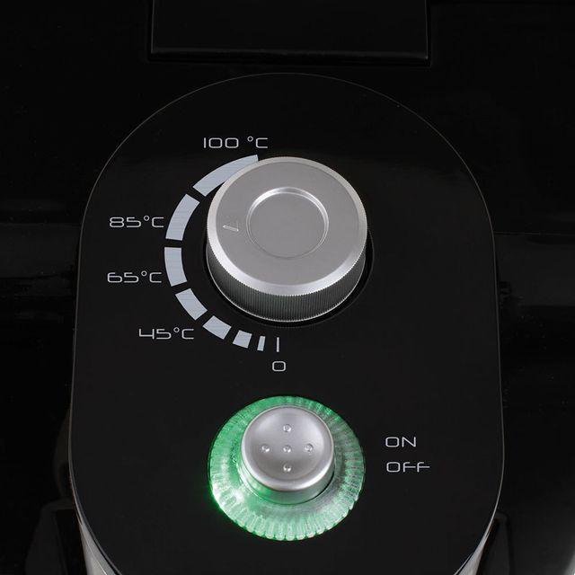 DOMOCLIP Fontaine à eau chaude DOD142 Fontaine à eau chaude - Capacité 2,2 L - Température ajustable de 40°C à 100°C - Permet d'obtenir jusqu'à 500 ml d'eau chaude par minute - Plateau anti-gout