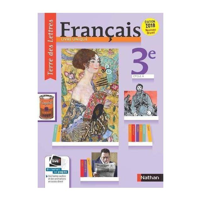 Nathan Terre Des Lettres Francais 3e Manuel De L