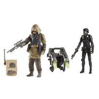 Star Wars - Star Wars Pack deluxe 2 figurines Rebel Commando PAO & Death Trooper