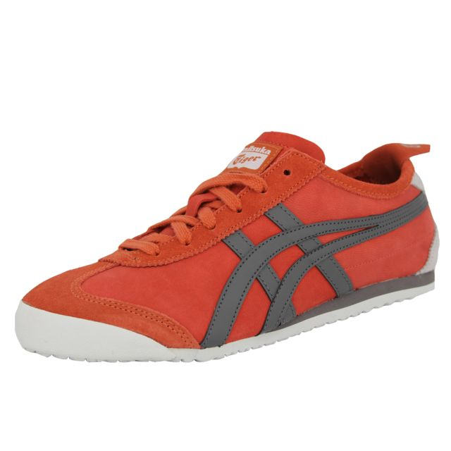 d68b0294b077 Asics - Onitsuka Tiger Mexico 66 Chaussures Mode Sneakers Unisex Cuir Suede  - pas cher Achat / Vente Baskets homme - RueDuCommerce