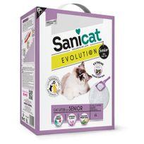 Sanicat - Litière Agglomérante Evolution pour Chat Senior - 6L